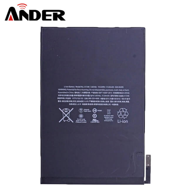 Original Replacement Internal Battery For iPad Mini 1 Built in 4440mAh Li-Polymer Battery