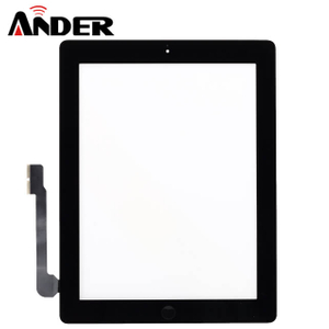 iPad 4 LCD Digitizer Touch Screen Front Display Assembly Black